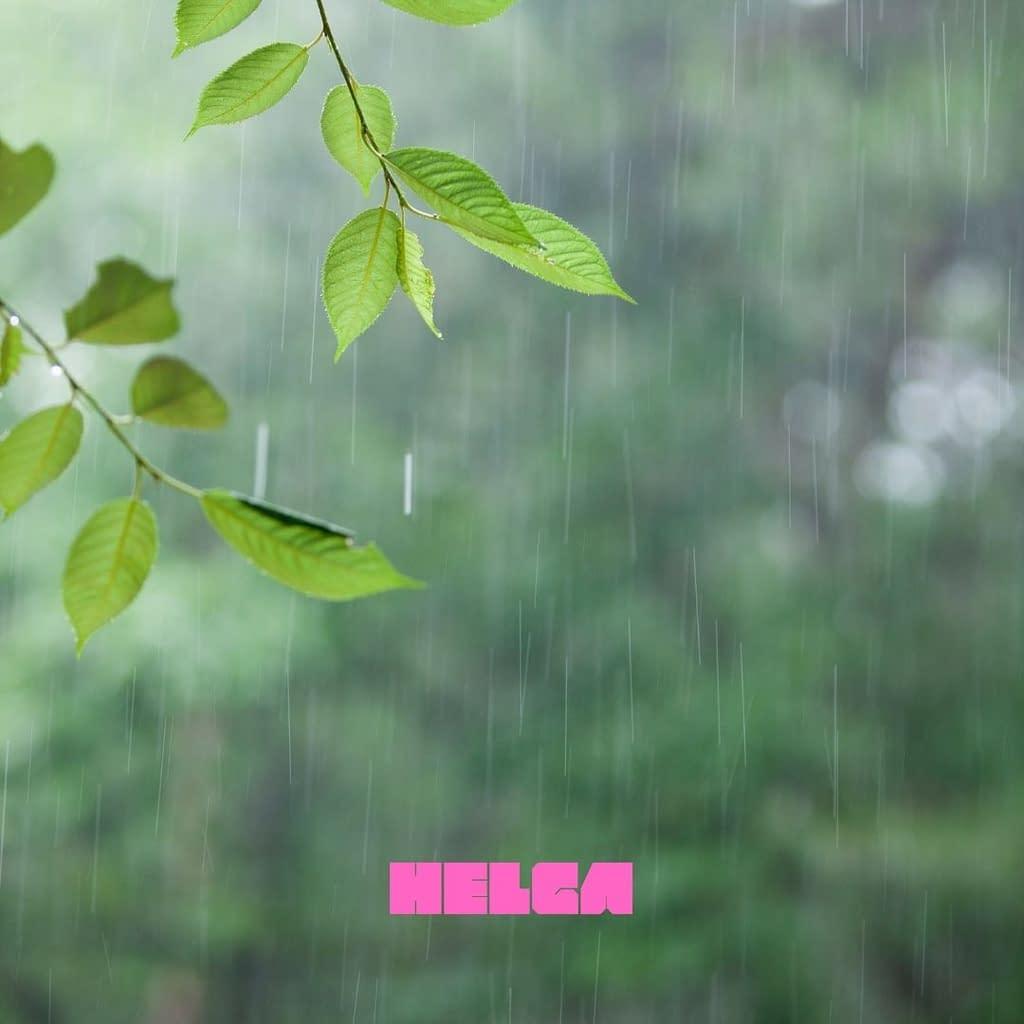 BIj artikel: Alle goede ideeën ontstaan onder de douche - Regen op bladeren